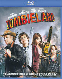 Primary image for Blu-ray Zombieland Woody Harrelson Emma Stone Zombie 1080 HD DTS Dolby OC4A09