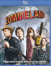 Blu-ray Zombieland Woody Harrelson Emma Stone Zombie 1080 HD DTS Dolby O... - $8.80