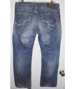 BIG STAR Jeans Sz 32 Men's Destroyed Pioneer Boot Cut Mid Rise Blue Denim - $34.64
