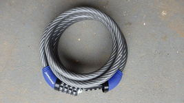 Kryptonite Cable Lock, Bicycle Lock - $6.00