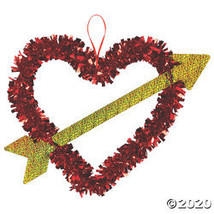 Valentine Heart & Arrow Wreath - $16.60