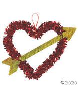 Valentine Heart & Arrow Wreath - $16.60