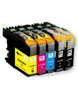 Full set 5 Pack Printer Black Color Ink Cartridge for Brother LC203XL LC201 New - $48.49