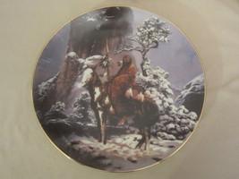 MYSTIC WARRIOR collector plate MYSTIC WARRIORS Indian CHUCK REN Native A... - $14.95