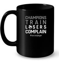 Soccer Player Ceramic Mug Champion Motivation Quote Gift Outfit - $13.99+