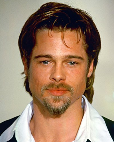 Brad Pitt 16x20 Canvas Giclee Candid in White Shirt and Dark Suit