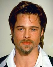 Brad Pitt 16x20 Canvas Giclee Candid in White Shirt and Dark Suit - $69.99