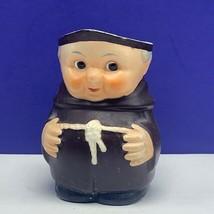 Goebel monk sugar creamer jar figurine hummel West Germany W vintage mcm pourer - $64.35