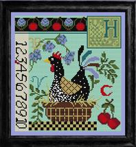 Hen on Nest Sampler Kit cross stitch kit Colonial Needle  - $36.00