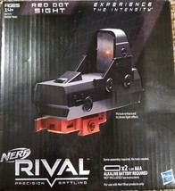 Nerf Rival Red Dot Sight, Aim Precision, Toy Gun Aiming Lens Attachment,... - $60.40