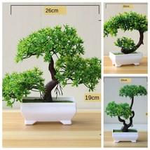 Artificial Plants Bonsai Tree Pot Plants Fake Flowers Home Hotel Garden ... - $8.90+