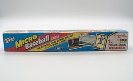 1992 Topps Micro Baseball Cards (792) Complete Set Includes 12 Gold Mini... - $19.79