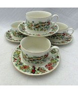 Marine Foundation - Toys for Tots - set/lot of 4 Cup and Saucer sets - EUC - $22.72