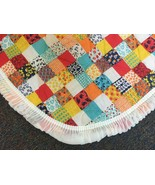 Patchwork Print Baby Quilt Play Mat Colorful Vintage Style 2 Available 4... - $19.95