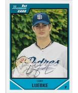 Cory Luebke Bowman 2008 #BDPP7 Bowman Prospects San Diego Padres - $0.15