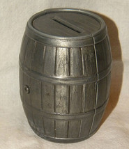 Vintage Metal Barrel Coin Bank First Federal Savings and Loan Association - $14.99