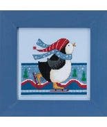 Polar Skate 2017 Polar Opposites cross stitch kit Debbie Mumm Mill Hill - $14.85
