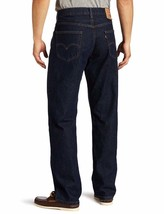 New Levi's Strauss 550 Men's Relaxed Fit Straight Leg Jeans Pants Rinse 550-0216 image 2