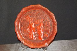 """""""Promise of Love"""" Commemorative Plate by The Ming Dynasty AA20-CP2334 Vintage Ca image 10"""