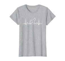Dog Fashion - Giant Schnauzer Dog Heartbeat Funny Dog Gift Tee Shirt Wowen - $19.95+