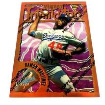 1996 Topps Finest Refractor Ramon Hernandez Parallel Card #71 Dodgers  - $2.92