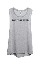 Thread Tank MamaRazzi Women's Sleeveless Muscle Tank Top Tee Sport Grey - $24.99+