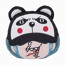 PANDA SUPERSTORE Pillow Auto Accessories Car Headrest Neck Pillow Jushi Cute Car