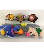 Disney Lion King Jungle Puppets Plush Stuffed Finger Puppets Timon Pumba... - $39.55