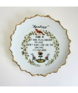 Artmark Japan Messy House Apology Come In Sit Sometimes It's Worse Plate... - $8.99