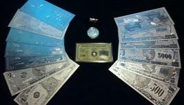 ~BRANDNEW 17Pc.LOT~.999 FINE SILVER $1-$1-BILLION+CLAD COIN+SILVER.FLAKE... - $46.54