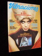 Vibraciones December 1980 B52s Eno ACDC Cars Alan Parsons Ted Nugent & More - $19.99