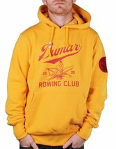 Hawke & Dumar Rowing Club sculling boat Yellow Red Pullover Hoodie image 1