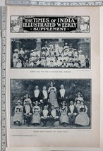1912 INDIA PRINT CHILDREN FANCY DRESS GOVERNMENT HOUSE OOTACAMUND CHAMBA... - $102.66