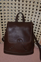 COACH Bag ~Coach~Coach Backpack~Brown Coach ~Leather Bag~Excellent - $135.00