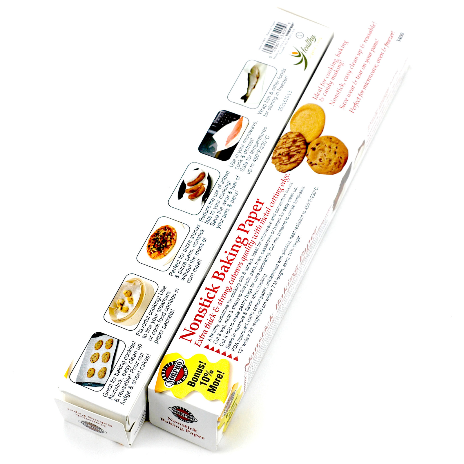 Baking Paper,cooking Chef Natural Parchment Paper Bulk For Baking Pan(pack Of 2)