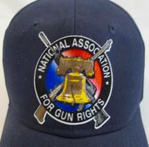 National Association for Gun Rights Hat Cap LIberty Bell Rifle Dark Blue... - $16.82