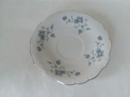 "Blue Garland by Johann Haviland Bavaria Germany 6"" Saucer - $12.76"