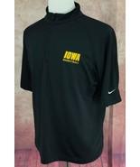 Nike Golf Sphere Dry Pullover 1/4 Zip NCAA Iowa Basketball Black Shirt M... - $17.41