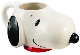 Peanuts Snoopy Sculpted Ceramic Mug 54722 - $19.48