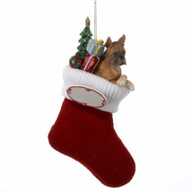 Boxer Stocking Ornament - $13.95