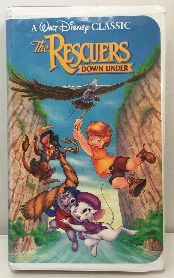 Primary image for The Rescuers Down Under (VHS, 1991)
