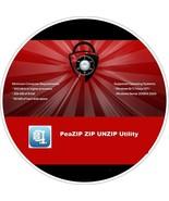 PeaZIP ZIP , UNZIP , RAR , UNRAR utility CD - $5.69