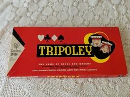 Tripoley Crown Edition No 225 Board Game Vintage Complete 1957 - $14.54