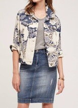Anthropologie Pilcro Jacquard Shirt Jacket Sz XS, L - NWT - $71.99