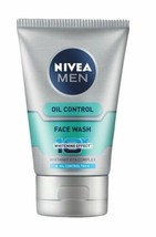 4 Pack Nivea Men Whitening Oil Control Face wash 10x Whitening Effects 100gm - $32.45