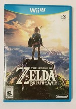 The Legend of Zelda Breath of the Wild 2017 Nintendo Wii U CIB Complete  - $35.59