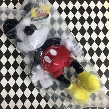 "Mickey Mouse 90 Year Anniversary Pie Eye 8"" Plush New with Tag Factory Sealed - $16.07"