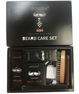 Dovich Beard Care Set 12 in 1 100% Pure & Natural New in Open box - $28.04