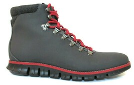 COLE HAAN ZERØGRAND Men's Magnet Leather Waterproof Hiker Boots Sz.9, #C... - $135.00