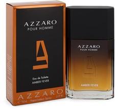 Azzaro Pour Homme Amber Fever Cologne 3.4 Oz Eau De Toilette Spray image 2